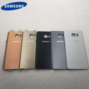 Image 2 - Note5 cubierta de cristal para puerta trasera de batería, Panel táctil frontal, lente exterior para Samsung Galaxy Note 5 N920 N920F N9200 N920FD