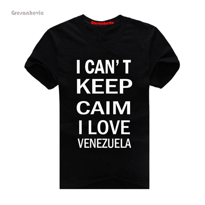 26be7195c Gresanhevic 2017 Venezuela nueva moda hombres Camisetas algodón Camisetas  Hombre Ropa al por mayor en Camisetas de La ropa de los hombres en  AliExpress.com ...