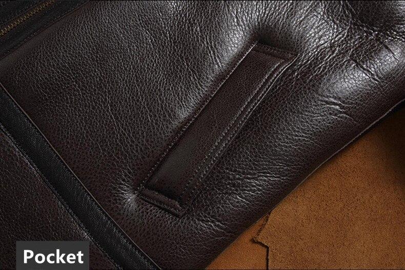 HTB1F FQagaH3KVjSZFpq6zhKpXay men genuine leather jacket man real original ecological sheepskin coat raccoon fur detachable hood winter jackets short design
