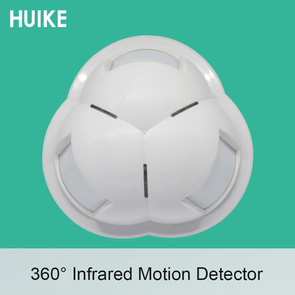(1 PCS) 360 Degree wire type Ceiling PIR Motion Sensor Security Alarm Infrared Detector Self defense Indoor use Motion Alarm