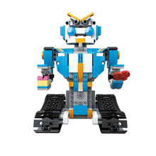 BB13004 M4 351PCS DIY 2.4G Remote Smart Control Building Block RC Robot Toys Intelligent Program Gift for Children Kids Birthday(China)