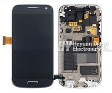 100% Original Lcd Display Touch Screen Digitizer Assembly With Frame  For Samsung Galaxy S4 Mini I9190 I9195 Replacement Parts
