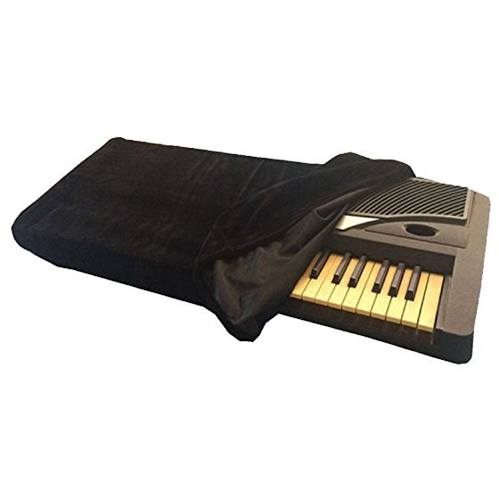 Piano Keyboard Cover,Stretchable Dust Cover With Adjustable Elastic Cord And Locking Clasp 88 Keys Electronic Keyboad