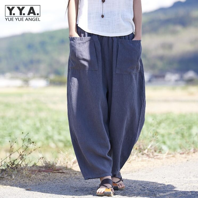 Popular Baggy Linen Pants-Buy Cheap Baggy Linen Pants lots from ...