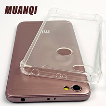 цена на Luxury Transparent Anti-fall Phone Case For Xiaomi Redmi 4A 4X Ultra-thin Soft Silicone protective Cover For Redmi 5A Note 5 5A