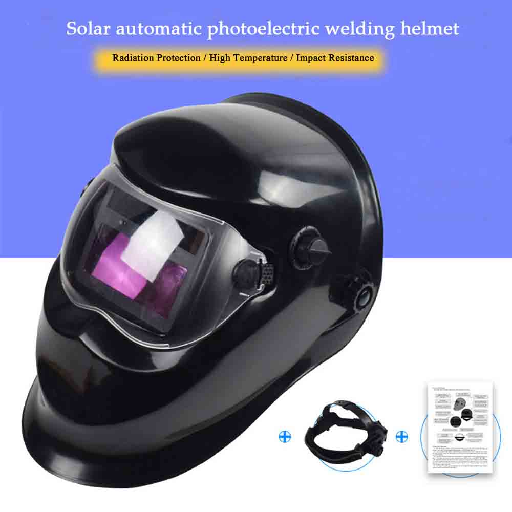 цены Welding Helmet Automatic Replacement Welding Mask Head Band Welder Welding Mask TIG Mask -110 Black