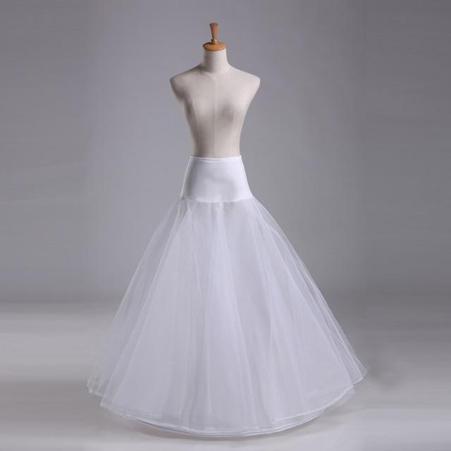 Boda accessories2017 nuevo ALine falda de tul blanco barato, entrega ...