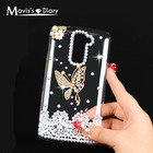 Mavissdiary 3D Rhinestone Case for LG K10 Compact Luxury Glitter Bling Crystal Diamond Protective Shell Cover for LG K10