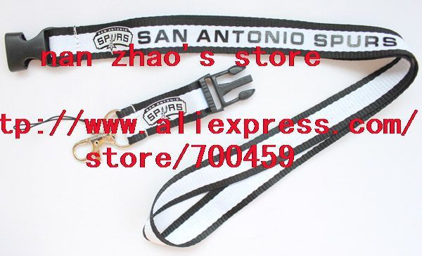 New Lot 10pcs  Football Phone Lanyard Key Chain Neck Strap team lanyard