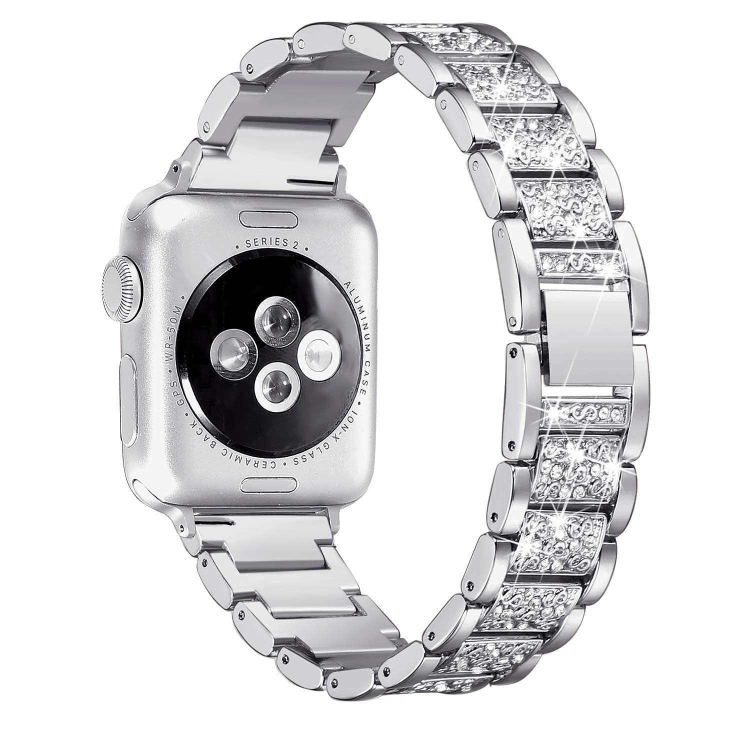 Women Diamond Band for Apple Watch 6