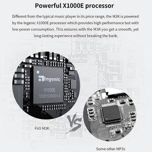 Image 5 - תיק מוצר מכירות של FiiO m3k MP3 נגן em3k אוזניות, יותר הנחות