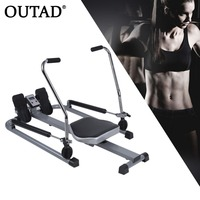 OUTAD Multifunctional Abdominal Rowing Device Belly Trainer Tool Fitness Exerciser Loss Weight Health Care Gym Home