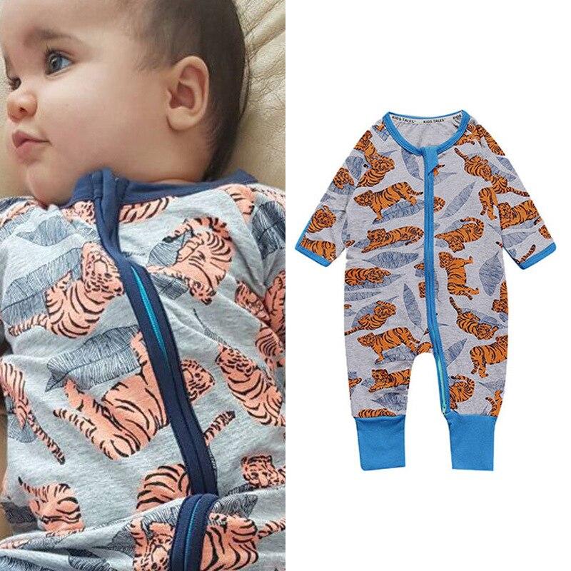 Cartoon T baby romper Baby jumpsuit Bebes Long Sleeve Rompers Suits Spring Autumn pajamas