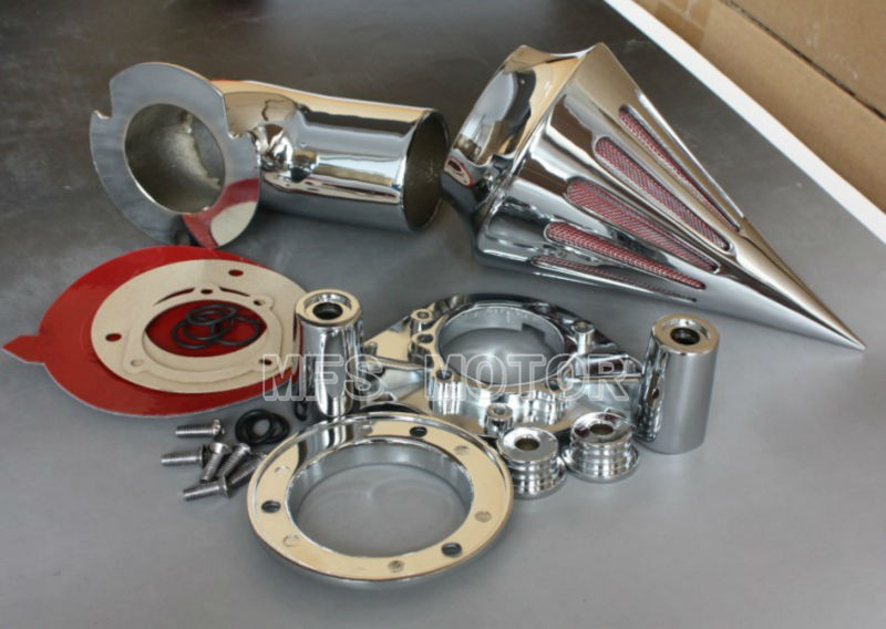 motorcycle parts Spike Air Cleaner kits for Harley Davidson 1991 2006 XL models sportster Chrome