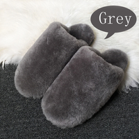 15 Color Winter Warm Cute House Slippers Women Indoor Fashion Furry Sheepskin Slippers Unisex Home Slippers