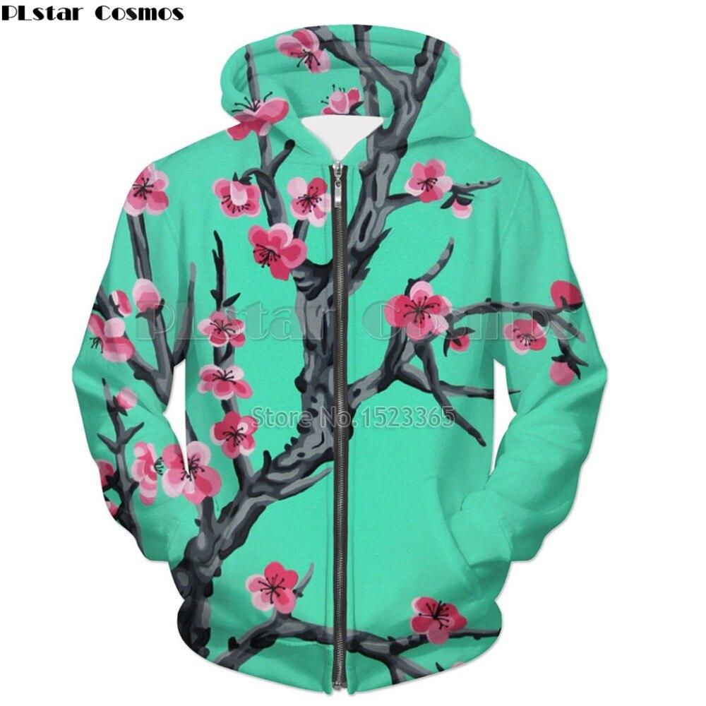 PLstar Космос мода толстовки Для мужчин/Для женщин уличная верхняя одежда Аризона чай 3d принтом толстовки на молнии зеленого чая куртка Прямая... ...