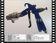 Manual blue two head spray gun for nano plating silver plating chrome sprey gun