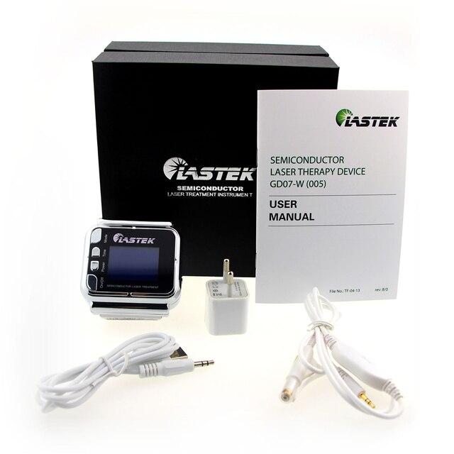Лазерные часы Lastek для холодной терапии, лечение высокого кровяного давления, сугер крови