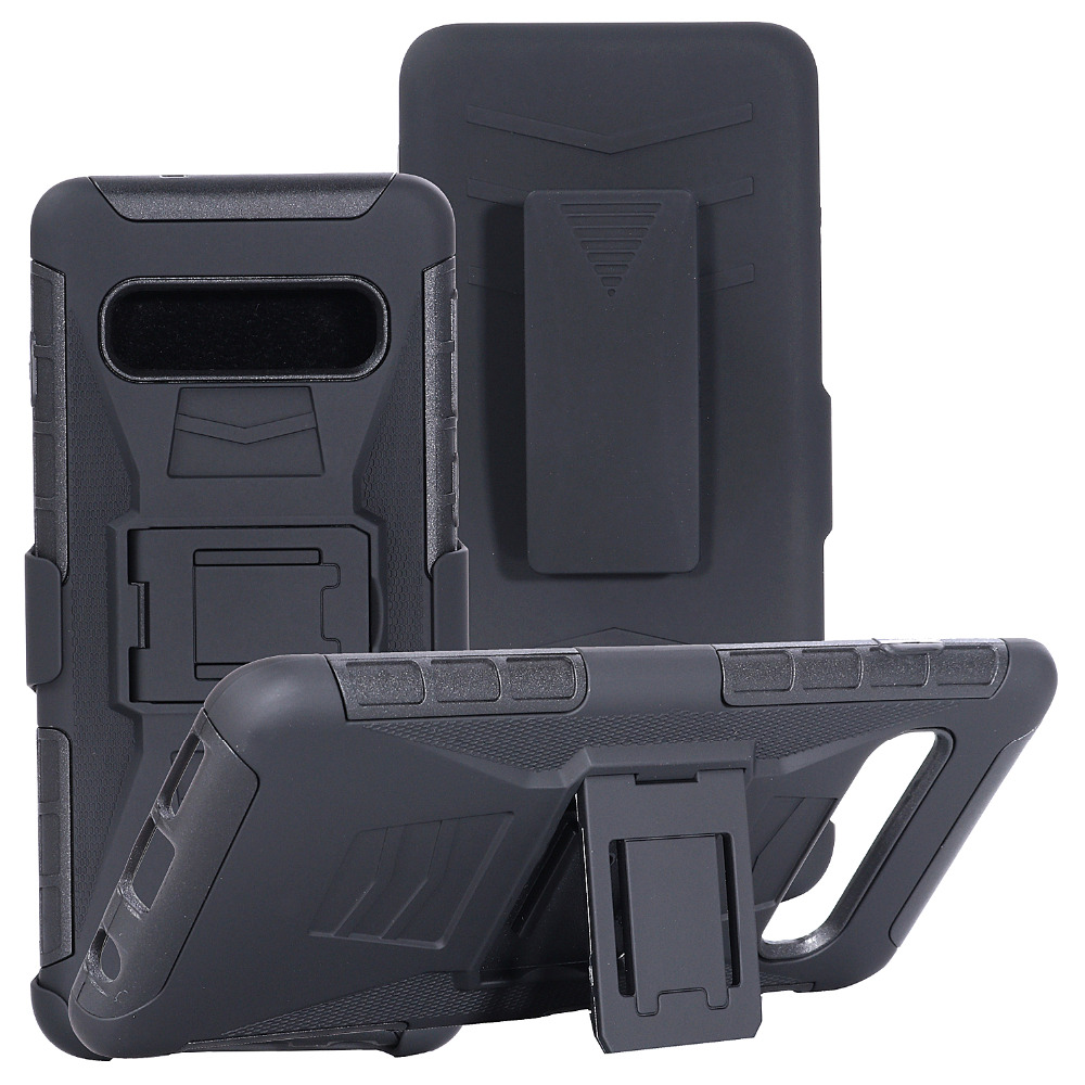 Heavy Duty Holster Defender Swivel Belt Clip Armor Case sFor Samsung S10 Plus S10 Lite S7 S5 S6 Note 3 4 5 J7 Rugged Phone Coque (4)