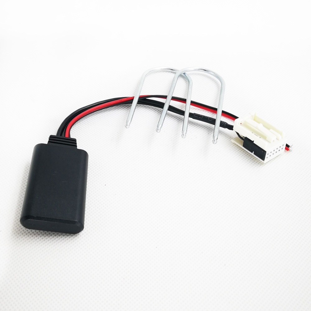 Biurlink Para Peugeot 207 307 407 308 Para A Citroën C2 C3 RD4 12Pin AUX-IN Rádio Estéreo Bluetooth Módulo Sem Fio de Áudio adaptador