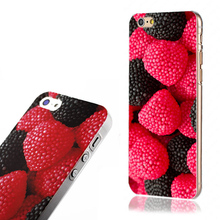 For iphone 4/4s/5/5s/6/6+ 1PCS Delicious Fruit Style Hard Back Cover Case Skin