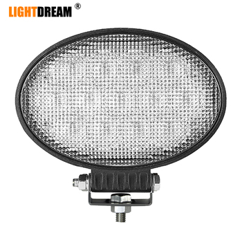 "6.5"" inch Oval Led Work Lights 65W Led Tractor lights 8 Degree Spot Beam 90 Degree Flood beam Oval Led Driving Lights x1pc"