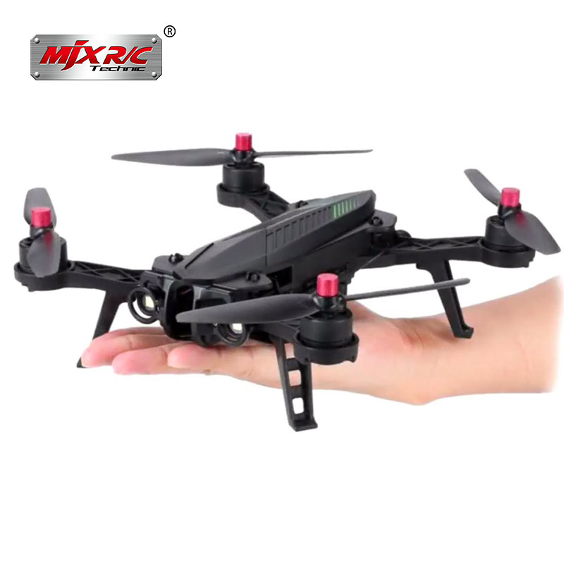 MJX Bugs 6 5.8G Racing High Speed Motor Brushless B6 Quadcopter Drone with 5.8G HD 720P FPV Camera and 5.8G Display B6FD in stock mjx bugs 6 brushless c5830 camera 3d roll outdoor toy fpv racing drone black kids toys rtf rc quadcopter