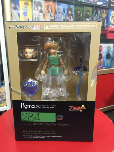 New arrival Figma 284 The Legend of Zelda PVC Figure Action Model Toys Doll Gifts For Children 2