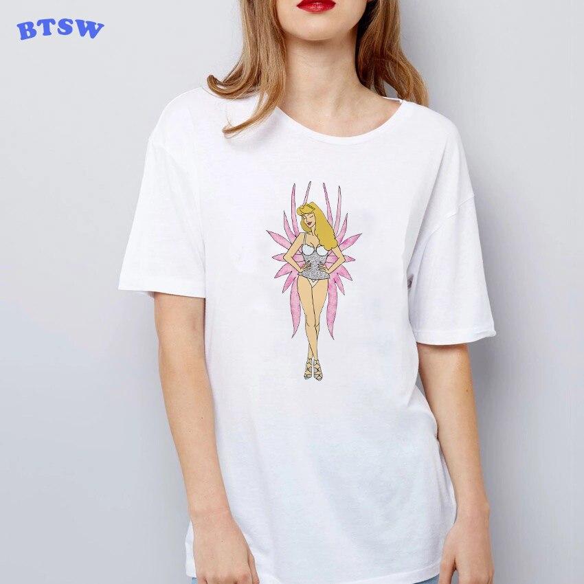 Doornroosje Geworden Modeshow Modellen Jourdan Dunn 90 S Meisjes Print Tops Streetwear Vrouwen Tee Femme Vogue Harajuku T Shirt