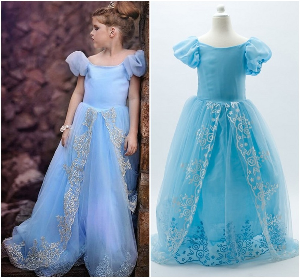 EMS DHL Free Luxury Quality Cinderella Wholesale Little Girls ...