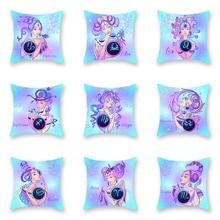 Explosion models home bedding pillow Nordic twelve constellation goddess pillowcase living room sofa office cushion cover