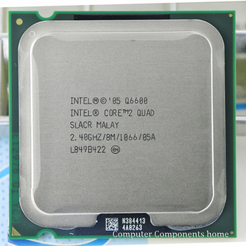 Intel core 2 Q6600 CPU Processore (2.4 Ghz/8 M/1066 GHz) socket LGA 775 CPU Desktop di trasporto libero