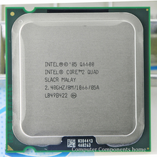 intel core 2 Q6600 CPU Processor (2.4Ghz/ 8M /1066GHz) Socket 775 Desktop CPU free shipping