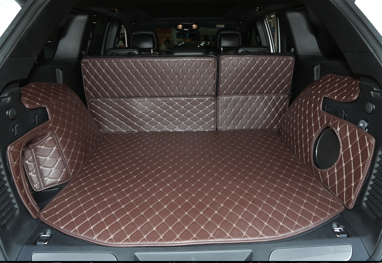 Best quality! Special car trunk mats for Jeep Grand Cherokee 2017-2015 waterproof boot carpets cargo liner mat,Free shipping