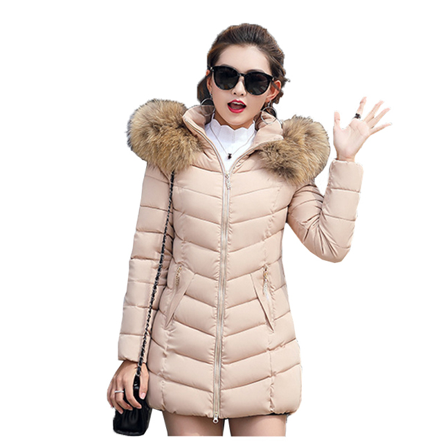 d2b329283f15c Winter Jackets And Coats Parkas For Women Thick Snow Wear Lady Clothing  Female Jackets Parkas Hooded