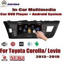 Автомобильный Android Системы с двумя камерами, процессор RockChip PX5 1080 P ips ЖК-дисплей Экран для Защитные чехлы для сидений, сшитые специально для Toyota Corolla (E170)/Левин 2013 ~ 2019 DVD плеер gps навигации