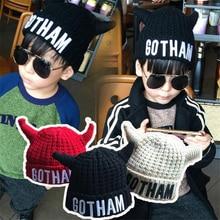 DoreenBow New Fashion Autumn Winter Warm Knit Beanie Skullies Casual Kids Children Boy Hats Christmas Gift