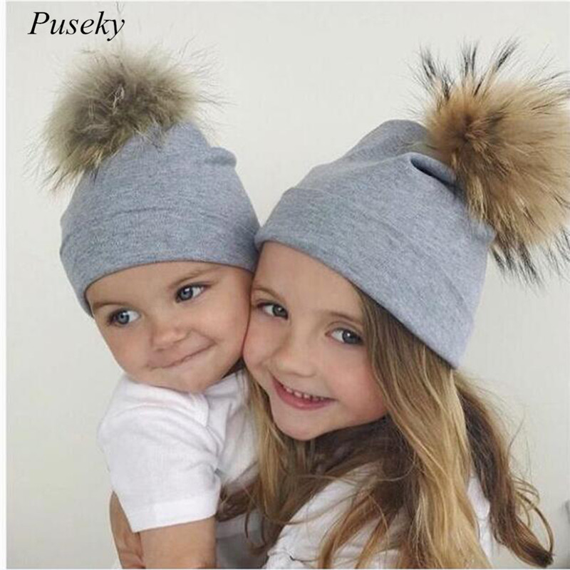 best website 9279f 39828 Clothing, Shoes   Accessories Hats New Kids Boys Girls Hat Knitted Winter  Warm Hats Soft Pom Beanie Cap