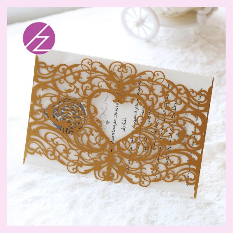 100pcs lot classic design laser cut paper craft wedding