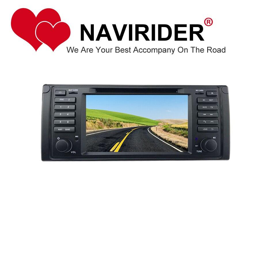 Voiture dvd adapté pour BMW série 5 E39 série Land Rover Range Rover autoradio unité de tête HU magnétophone GPS android 8.1.0 unité de tête