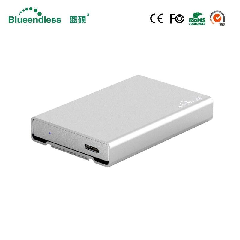 New Aluminum 5GBPS High Speed Writing Reading Data Sata I Sata II Sata III HDD Hard