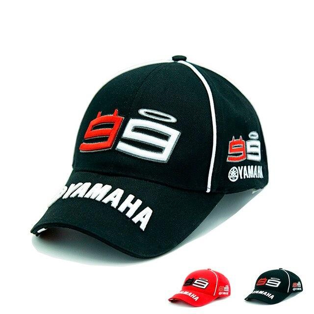yamaha hat. mnkncl 2017 new moto gp 99 jorge lorenzo yamaha hats cotton motorcycle racing baseball caps snapback yamaha hat