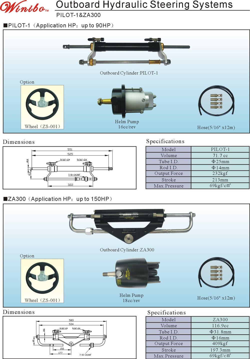US $319 0 |Hydraulic steering system for 150HP-in Hydraulic Tools from  Tools on Aliexpress com | Alibaba Group