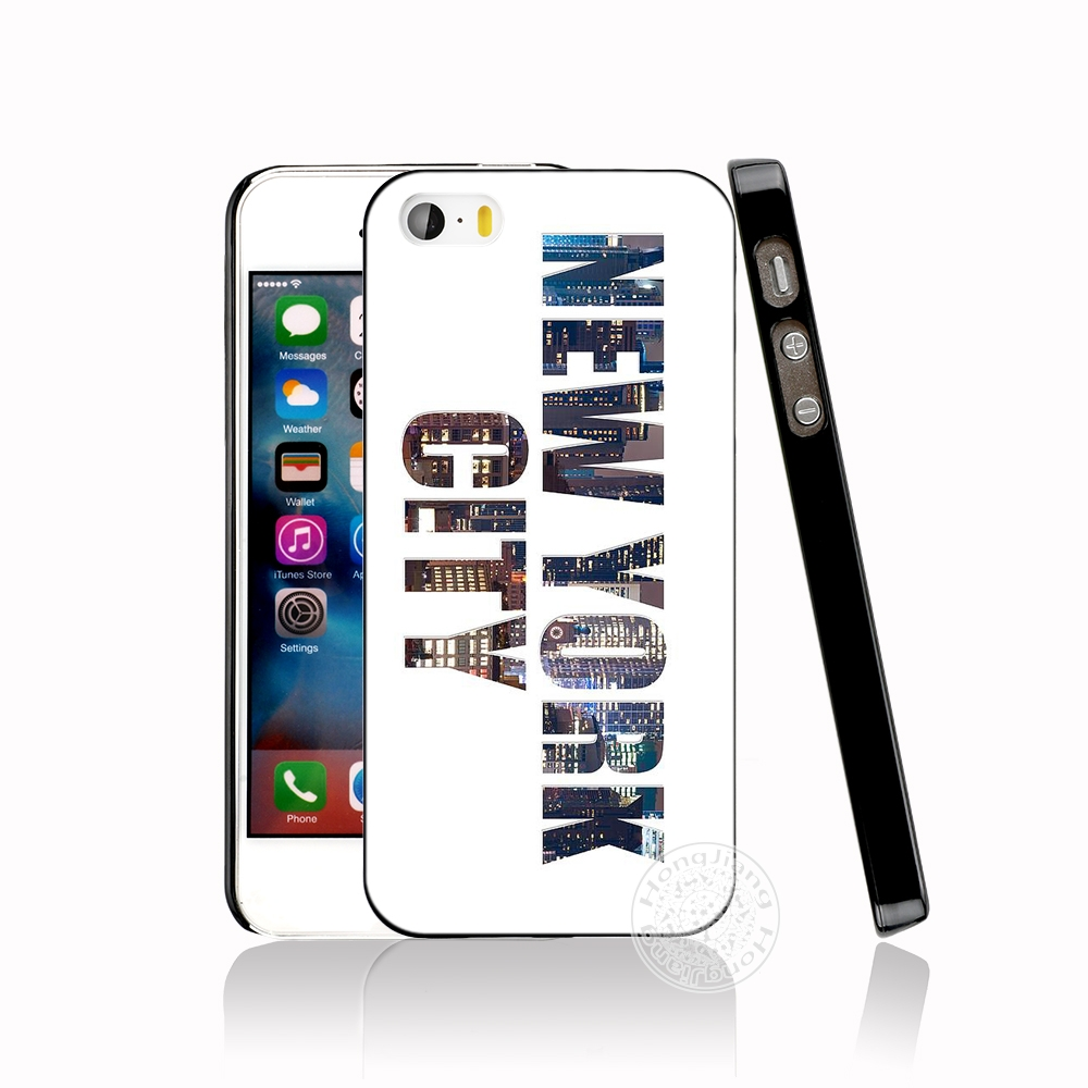 ea6b7507f7 NYC NEW YORK City Landscape Cell Phone Cover Iphone 6 4 4S 5 5S SE ...