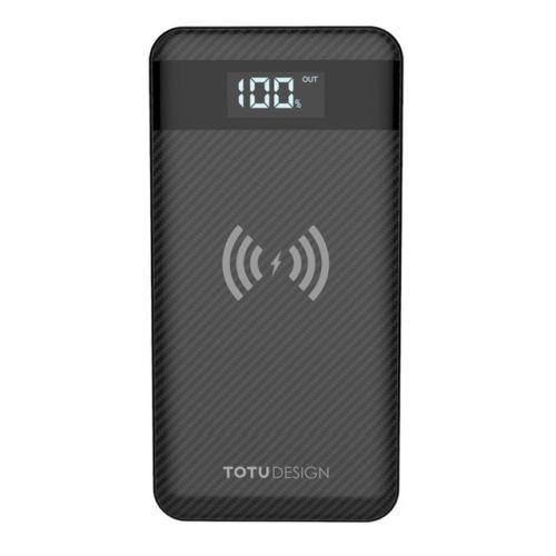2018New 10000 mAh batterie Mobile Qi sans fil chargeur de batterie Portable USB pour Samsung S7 edge/S6/S9/S8 Plus