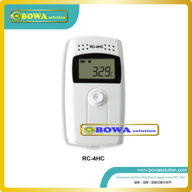 Temperature and humidity data logger used calibration rooms, greenhouses, warehouses, basements, attics, and even cigar humidors  temperature and humidity data logger amt 131