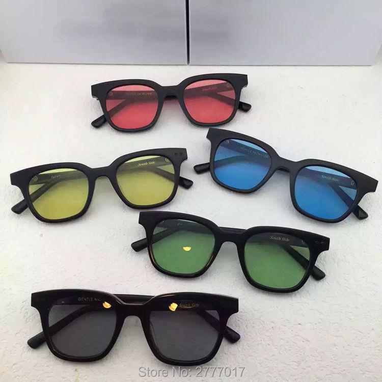 5c552414fd5c1 Hot bibang Korea Gentle SOUTHSIDE sunglasses for men women computer ...