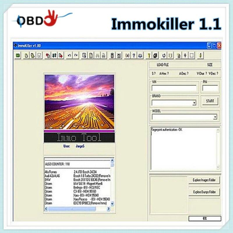 IMMO KILLER IMMOKILLER v1.10  IMMO Off soft to REMOVE IMMO immo killer v1.1 fast