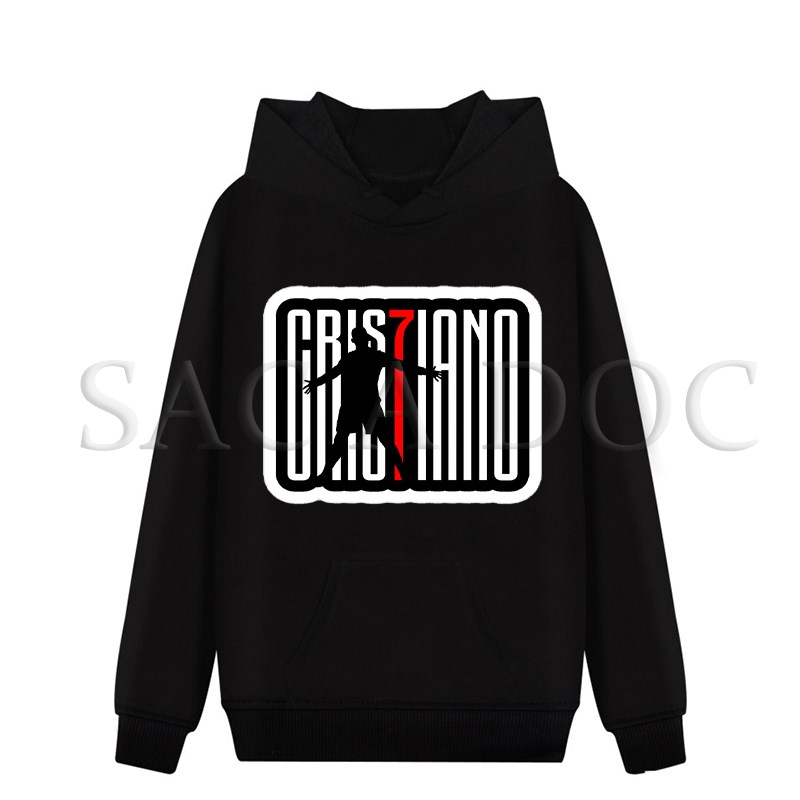 Cristiano Ronaldo 7 Hoodies Cr7 Pullover Sweatshirts Frauen Männer Streetwear Tops Herbst Winter Beiläufige Hoodies Plus Größe 4xl