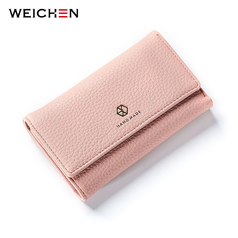 WEICHEN Famous Brand Designer Luxury Women Long Wallet Fashion Clutch Wallets Female Bag Ladies Money Card Coin Purse Carteras dark brown brick wall with white clock photography backdrops wedding background 200x300cm photo studio props fotografia